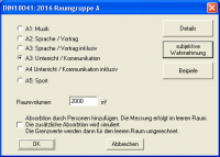 Plug-in DIN18041:2016